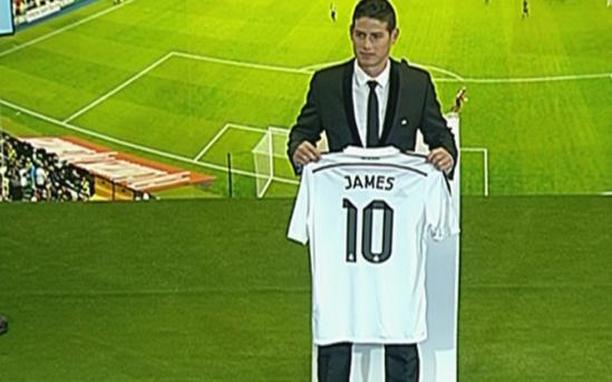 James Rodriguez en el Real Madrid